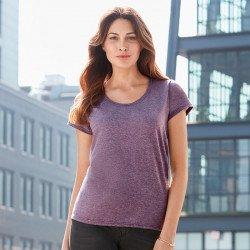 64550L - T-shirt à encolure dégagée Sofstyle femme