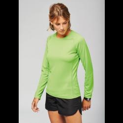 PA444 - T-shirt Sport respirant Manches longues 140 Femme PROACT