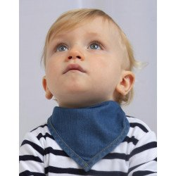 BZ55 - Baby Rocks Denim Bandana Bib